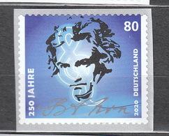 Deutschland BRD **  3520 Ludwig Van Beethoven Skl Auf Folienstreifen Mit Nummer  Neuausgaben  2.3.2020 - Ongebruikt