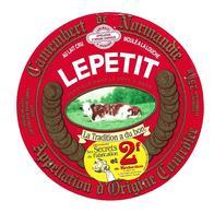 ETIQUETTE De FROMAGE..CAMEMBERT De NORMANDIE..LEPETIT à SAINTE MARIE Aux ANGLAIS (14)..Ses Secrets De Fabrication 2f - Cheese