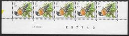 Buzin - 2397xx Roodborsttapuit/Traquet Pâtre. Datumstrook/12/12/90/Bande Datée. Diepdrukplaat Nr E97719 - Onpaar/impair - 1985-.. Birds (Buzin)