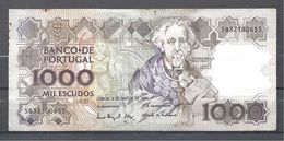 PORTUGAL BILLET DE 1000 ESCUDOS 3 MARS1994 - Portugal