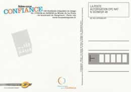 """CARTE MUSÉE De La POSTE """"FAITES NOUS CONFIANCE"""" - FRANCHISE - Altri"""