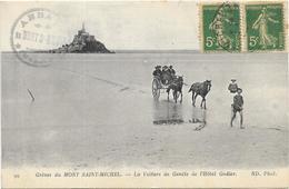 LE MONT SAINT MICHEL : LA VOITURE DE GENETS - Le Mont Saint Michel