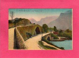 38 Isère, PONT DE CLAIX, Les Ponts, Colorisée, (L. L.) - Autres Communes
