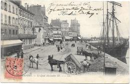 CHERBOURG : QUAI ALEXANDRE III - Cherbourg