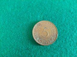 SEYCHELLES 5 Cent 1965 - Seychelles
