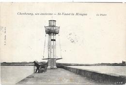 SAINT VAAST LA HOUGUE : LE PHARE - Saint Vaast La Hougue