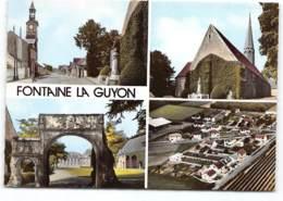 Fontaine La Guyon Edit Spadem. Multivues - Francia
