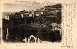 CPA PEGLI Giardino Del Grand'Hotel De La Mediterr. ITALY (498195) - Other Cities