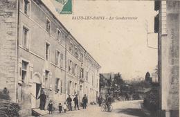 BAINS LES BAINS. La Gendarmerie - Bains Les Bains