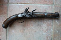 Pistolet 1763/66 Silex Révolution Libreville - Armas De Colección