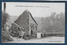 ST BENOIT DU SAULT - Le Pont , L'étang Et La Garenne - Andere Gemeenten