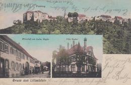 CPA - LÜTZELSTEIN - ALSACE - CARTE GRÜSS 3 VUES - Otros Municipios