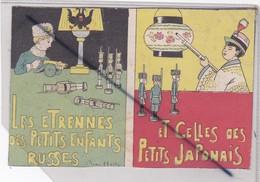 Les Etrennes Des Petits Enfants Russes / Et Celles Des Petits Japonnais :Signé André Hellé (soldats De Plomb) - Other Illustrators