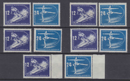 DDR Engros MiNr. 246-247 Per 5 ** - Ungebraucht