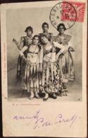 Cpa, Danseuses Arabes, éd Isaac Behar, écrite En 1907 - Port-Saïd