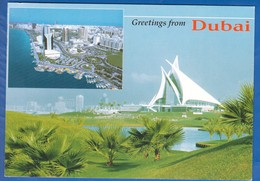 Dubai; Multibildkarte - Dubai