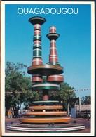°°° 18935 - BURKINA FASO - OUAGADOUGOU - PLACE DES CINEASTES - 2002 With Stamps °°° - Burkina Faso