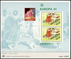 PORTUGAL MADEIRA - WORLD CHESS CHAMPIONS  -1 Sheet MNH - Echecs