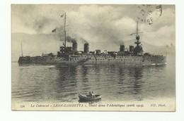 C.P. De Le Cuirassé 'Léon Gambetta' Coulé Dans L'adriatique Avril 1915 - W0605 - Guerra