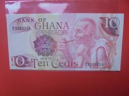 GHANA 10 CEDIS 1978 CIRCULER - Ghana