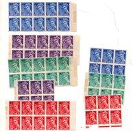 St Divers TypeMercure 1944 En Petits Blocs Neufs Pour Etude De Varietes - Unused Stamps