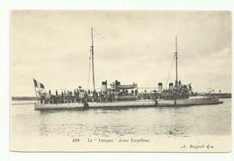 C.P. 'Le Yatagan- Aviso-torpilleur - W0612 - Guerra