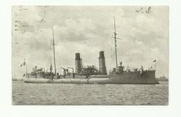C.P. Bateau De Guerre Anglais 1909 - W0617 - Guerra