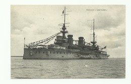 C.P. Du Cuirassé 'Gaulois' - W0618 - Guerra