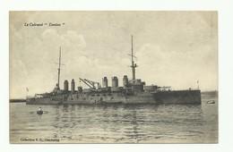 C.P. Du Cuirassé 'Danton' - W0619 - Guerra