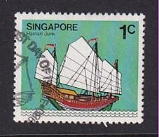 Singapore: 1980/84   Ships  SG364    1c     Used - Singapur (1959-...)