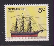 Singapore: 1980/84   Ships  SG365    5c     Used - Singapore (1959-...)