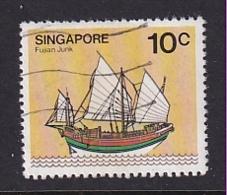 Singapore: 1980/84   Ships  SG366    10c     Used - Singapore (1959-...)