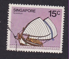 Singapore: 1980/84   Ships  SG367    15c     Used - Singapore (1959-...)