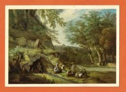 Pro Juventute, Adam  W. Toepffer ( 1766 - 1847 ) Die Quelle Von Veyrier, La Fontaine De Veyrier - Pro Juventute