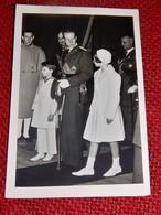 Le Prince Charles De Belgique En Compagnie Du Prince Baudouin Et De La Princesse Joséphine Charlotte - Case Reali