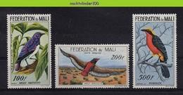 Mza072 FAUNA VOGELS BATELEUR BIRDS VÖGEL AVES OISEAUX QWMA 1960 ONG/MH # - Collections, Lots & Series