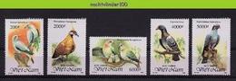 Mza070 FAUNA VOGELS DUIF DUIVEN PIGEONS DOVES BIRDS VÖGEL AVES OISEAUX VIETNAM 1992 PF/MNH # - Columbiformes