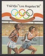 1984 Vietnam Los Angeles Olympics Souvenir Sheet MNH *difficult** - Vietnam