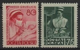 SAN 6 - POLOGNE N° 718/19 Neufs** Thème Santé Infirmières - 1944-.... République