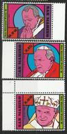 PIA - SAN MARINO - 2015 : 10° Anniversario Della Morte Do San Giovanni Paolo II -  (SAS  2482-84) - Saint-Marin