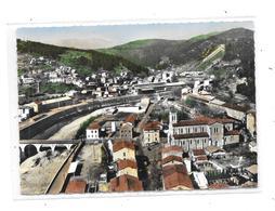 30 - BESSEGES : Le Pont Sur La Cèze, Quartier De L'église, Usines Lorraine Escaut - Bessèges
