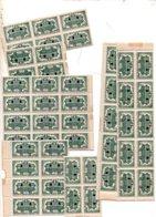 St 609  JT 1944  Divers Blocs Neufs La Plupart ** Pour Etude Varietes  Cote > 40 Euros - Unused Stamps