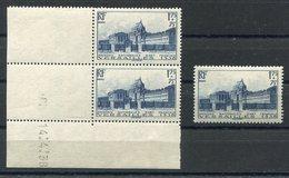 RC 15721 FRANCE N° 379 VERSAILLES COTE 138€ ** / 69€ * NEUF ** VOIR DESCRIPTION - Unused Stamps