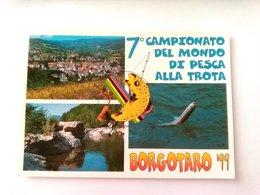 BORGOTARO - PARMA - 7' CAMPIONATO DEL MONDO DI PESCA ALLA TROTA - F.TO GRANDE - VIAGGIATA - Parma