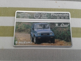 Papua - Mint Optical Phonecard - Papoea-Nieuw-Guinea