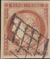 France     .    Yvert    .   6  Faux??      .    O  .     Oblitéré   .   /   .   Cancelled - 1849-1850 Cérès