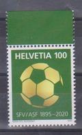 Timbre De Suisse De 2020 Thème Football Association Suisse De Football 125 Ans - Tp MNH ** New - Switzerland
