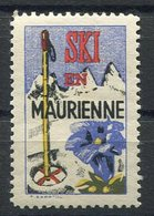 RC 15725 FRANCE SKI EN MAURIENNE VIGNETTE NEUF ** TB - Sports