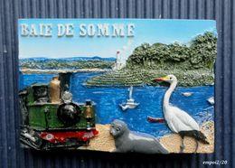Magnet BAIE DE SOMME -  Relief - Tourism