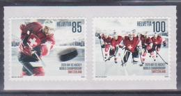 Timbre De Suisse De 2020 Thème Hockey Sur Glace Championnat Du Monde De Hockey Sur Glace 2020 De L'IIHF - Tp MNH ** New - Svizzera